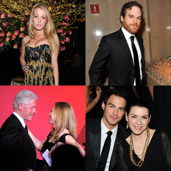 Pictures of Blake Lively, Anna Wintour, and More at President Clinton's 2011 AmfAR Party 2011-02-10 08:50:19