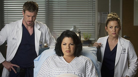 Callie Is Pregnant on Grey's Anatomy 2011-02-11 16:03:12