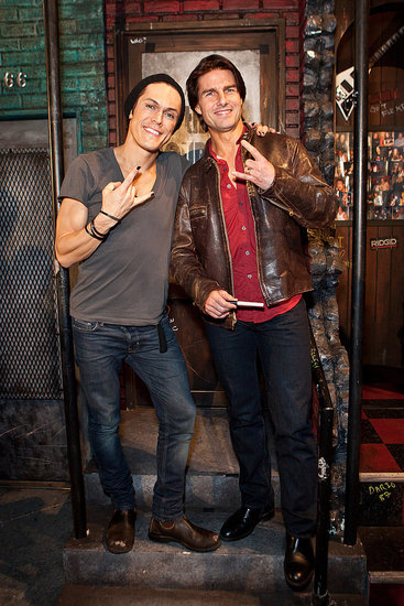 Tom Cruise and Katie Holmes Enjoy Rock of Ages From Front Row Seats