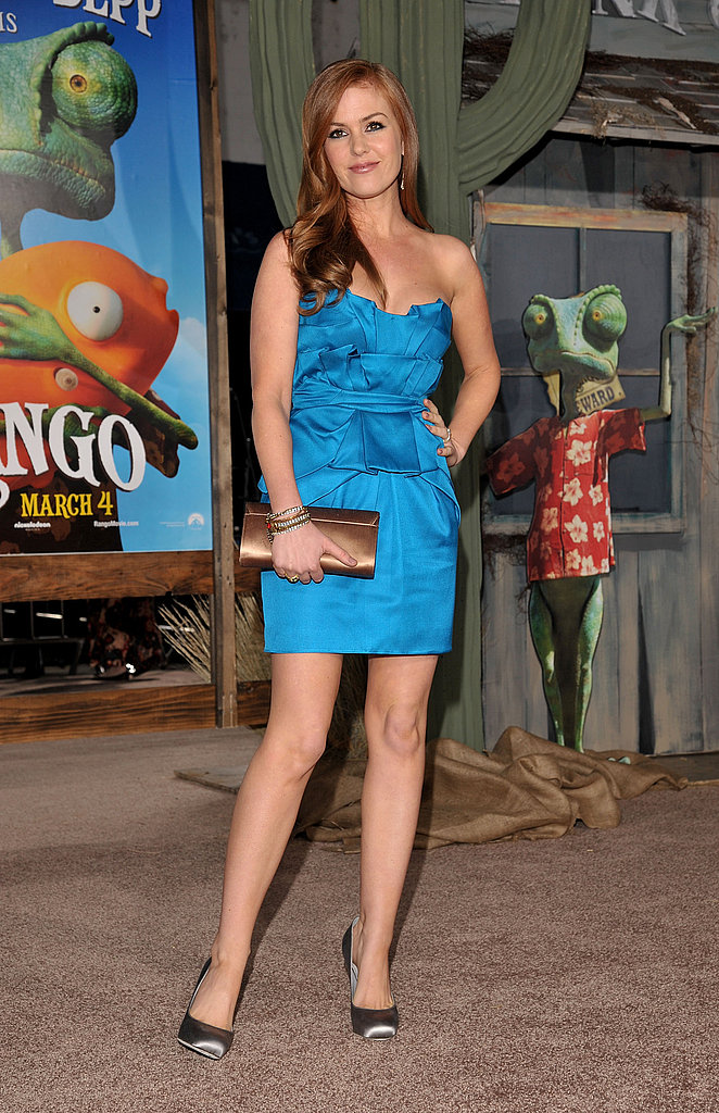 Johnny Depp and Isla Fisher Make a Hot Duo at the Rango Premiere