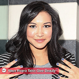 Naya Rivera Talks About Glee's New Polish Collection and More