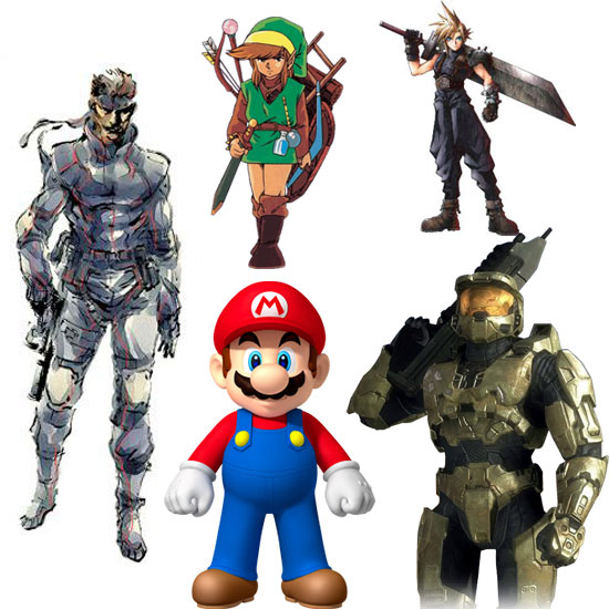 Top Video Game Characters of All Time 2011-02-17 10:45:49