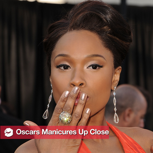 2011 Oscars Nail Trends: Celebrity Manicures Up Close