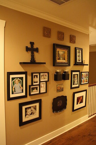 Large Gallery Wall - Black and Gold