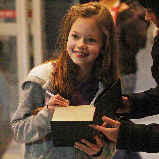 Pictures of Mackenzie Foy, Who Plays Renesmee in Breaking Dawn, Arriving in Vancouver