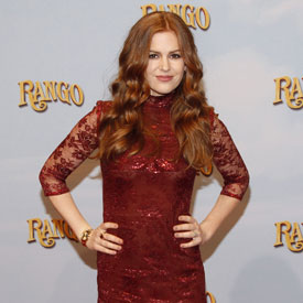 Pictures of Isla Fisher at European Premiere of Rango