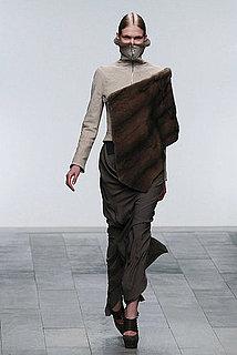 Fall 2011 London Fashion Week: Todd Lynn