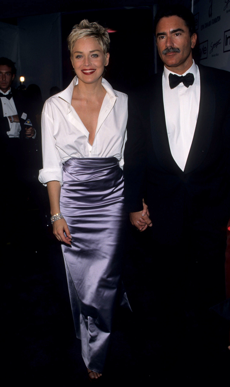 Sharon Stone gap