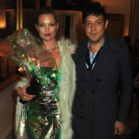 Pictures of Kate Moss and Jamie Hince at Another Magazine Party During London Fashion Week