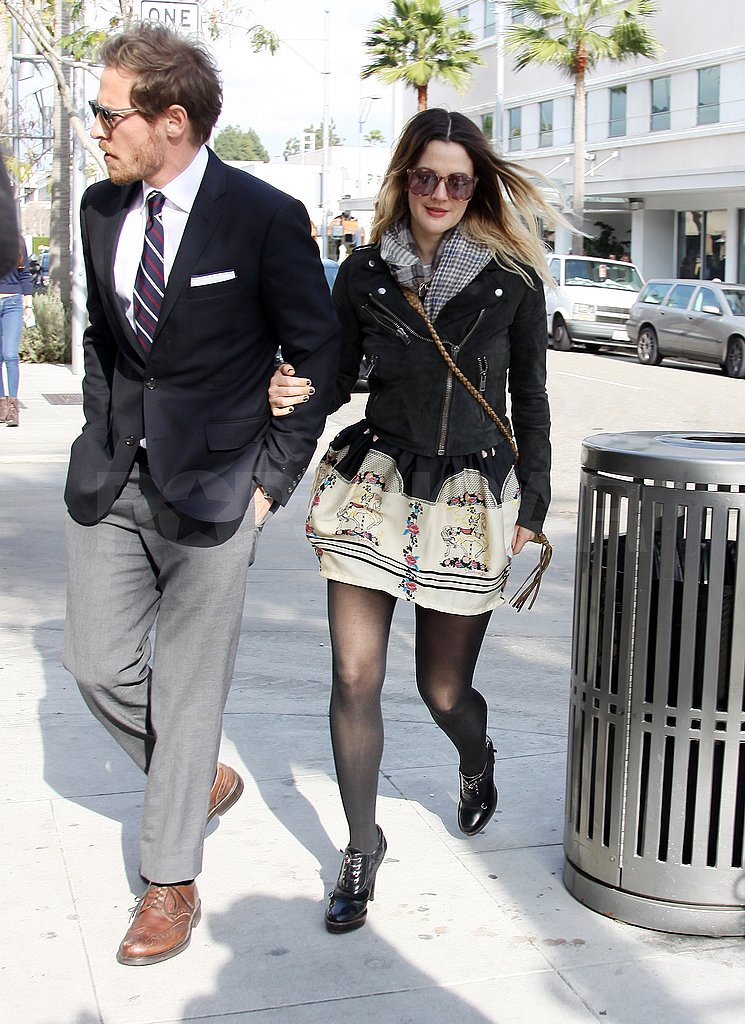 Drew Barrymore Keeps the Laughs and Lunches Coming With Her New Guy