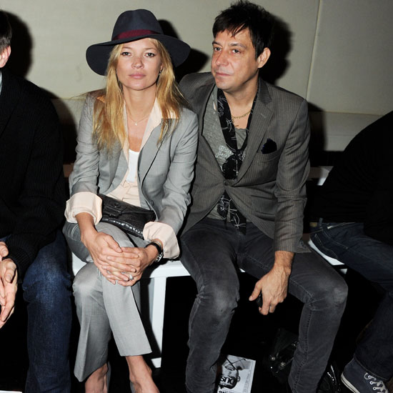 Pictures of Kate Moss and Jamie Hince Attending London Fashion Week 2011-02-23 12:58:26