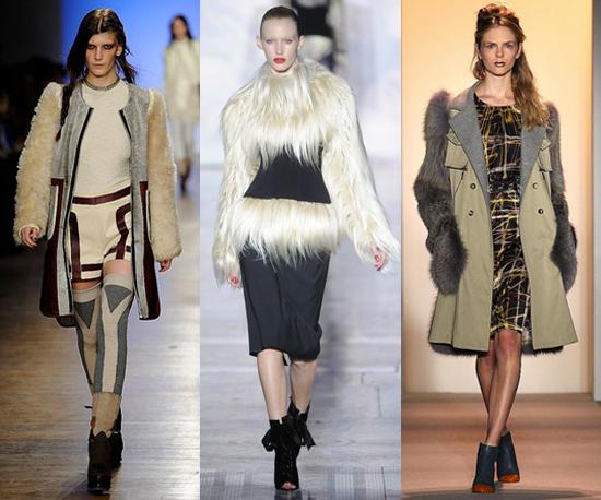 2011 Fall New York Fashion Week Trend: The Gorilla Arm