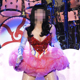 Guess the Celebrity in a Tight Stage Costume