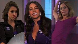 Video of Emily Blunt, Sofia Vergara, Jessica Alba For Jimmy Kimmel Hottie Body Humpilates