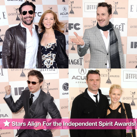 Pictures of Natalie Portman, Michelle Williams, Melissa Leo, and More at the 2011 Independent Spirit Awards