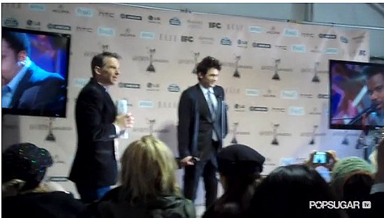 Video of James Franco Accepting Best Lead Actor at Independent Spirit Awards