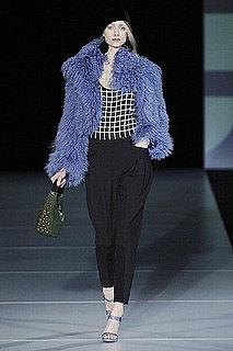Fall 2011 Milan Fashion Week: Emporio Armani