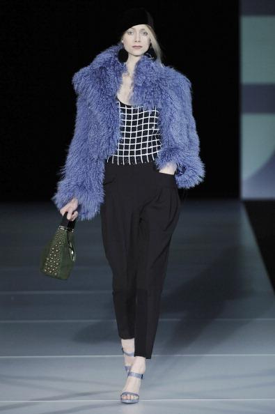 2011 Fall Milan Fashion Week: Emporio Armani