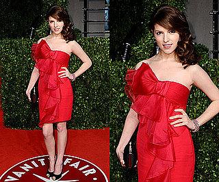 Anna Kendrick at Vanity Fair Oscars Afterparty 2011