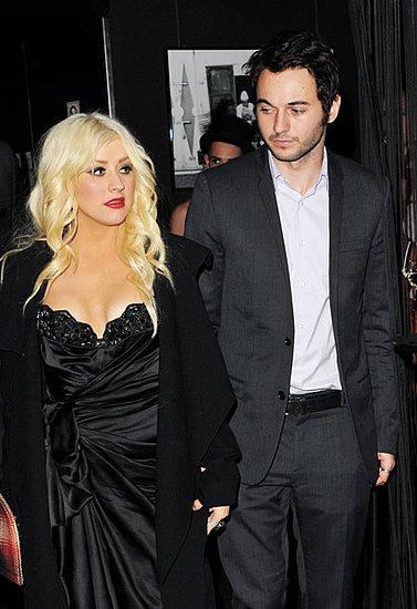 Christina Aguilera Arrested For Public Intoxication 2011-03-01 07:25:48
