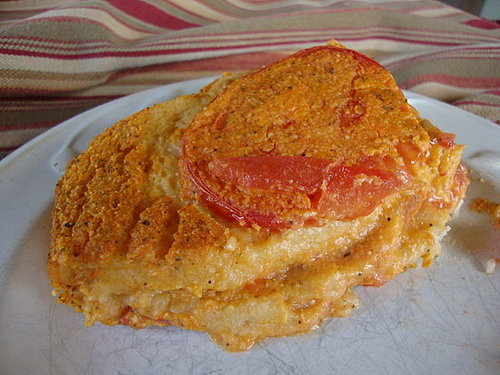 Tomato and Cheez Souffle