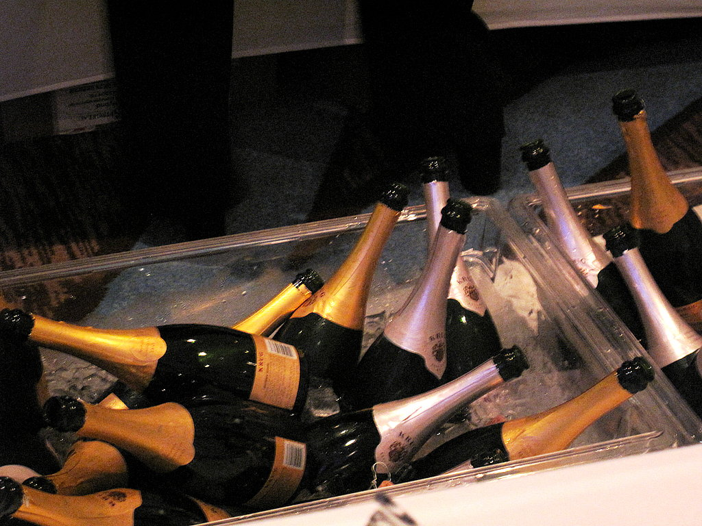 The Best of the Best had more than 20 bottles of Krug Champagne, but it was gone within the first half hour.