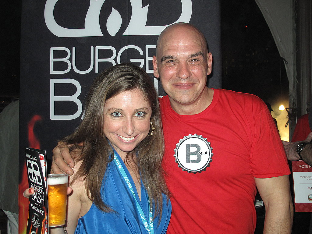 People's Choice winner Michael Symon doing the same with us!