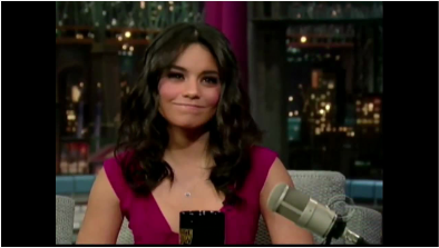 Vanessa Hudgens Laughs at Bruce Willis's High School Musical Spoof and Shows Off Her Tattoo