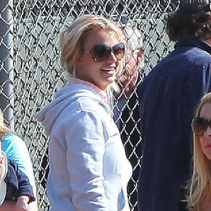 Pictures of Britney Spears and Kevin Federline at Sean Preston's Little League Game