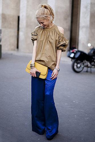 Bold Color- Paris Street Style