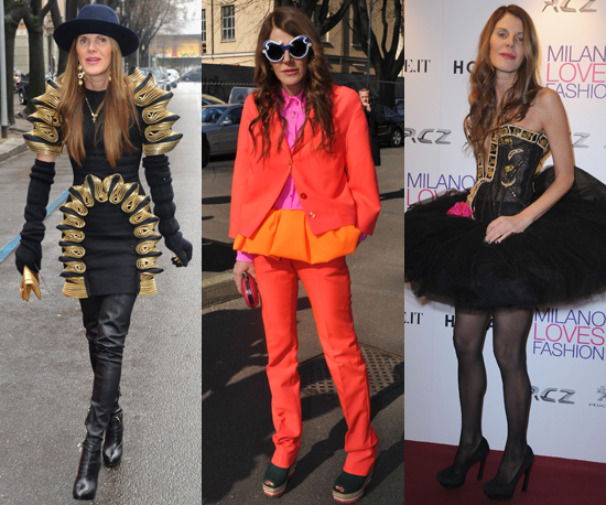 12 Days, 12 Amazing Outfits from Anna Dello Russo From Milan And Paris Fashion Week