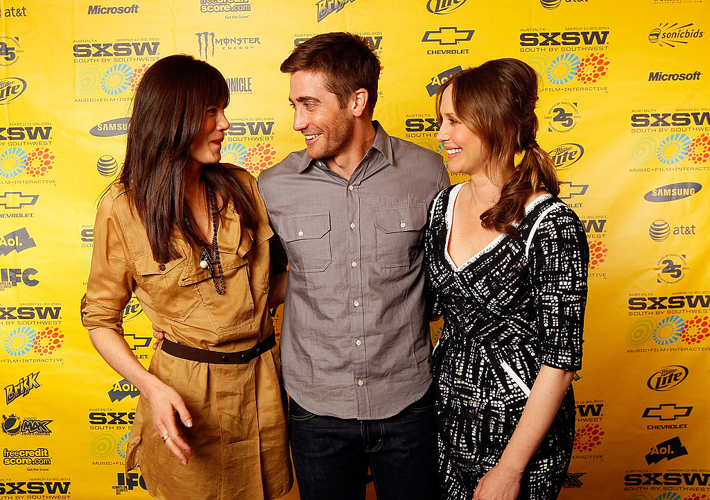 Jake Gyllenhaal, Vera Farmiga and Michelle Monaghan at the Source Code Premiere at SXSW
