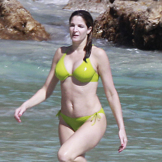 Stephanie Seymour Bikini Photos With Husband Peter Brant