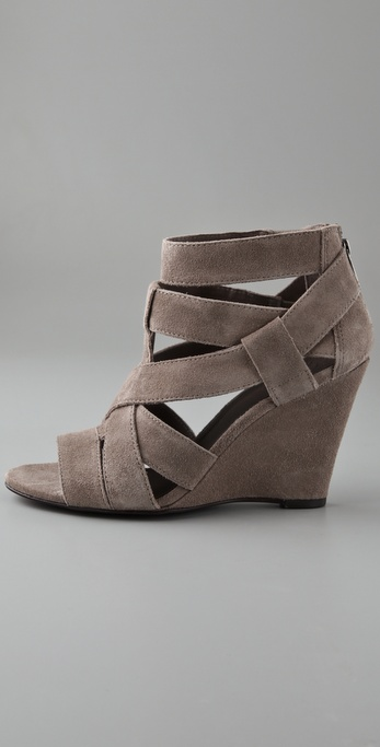 Comfy enough for everyday wear, and we're pleased with the supple grey suede. Joie Suede Wedge ($315)