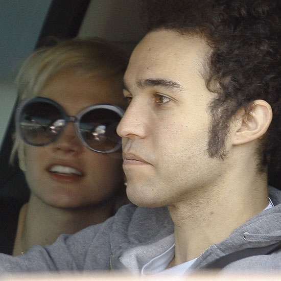 Pictures of Estranged Couple Pete Wentz and Ashlee Simpson Getting Fast Food in LA