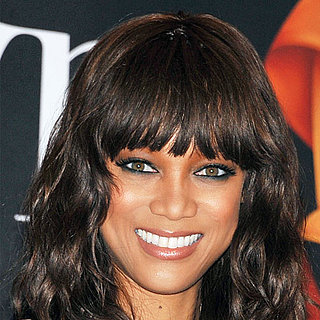 Try Tyra Banks's Black and Steel Blue Eye Makeup Look