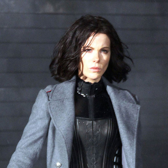 Pictures of Kate Beckinsale on the Underworld 4 Set in Vancouver