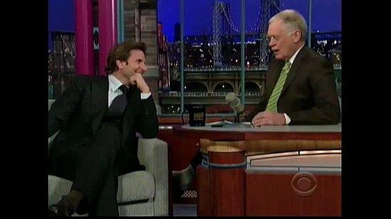 Bradley Cooper Does Spot-On Robert DeNiro and Owen Wilson Impressions on Letterman