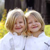 Meet Kid Foodies Lilly and Audrey Andrews of Twin Chefs