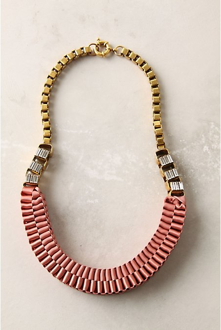 Anthropologie Accordion Strands Necklace ($278)