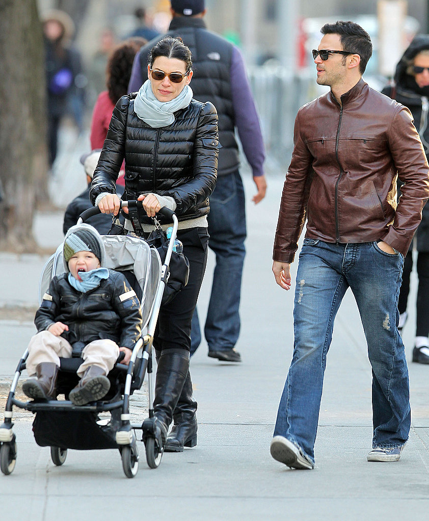 Julianna Margulies Takes Her Good-Looking Guys Around Town