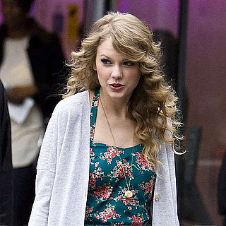 Pictures of Taylor Swift at MTV Studios and Out to Dinner With a Friend in London