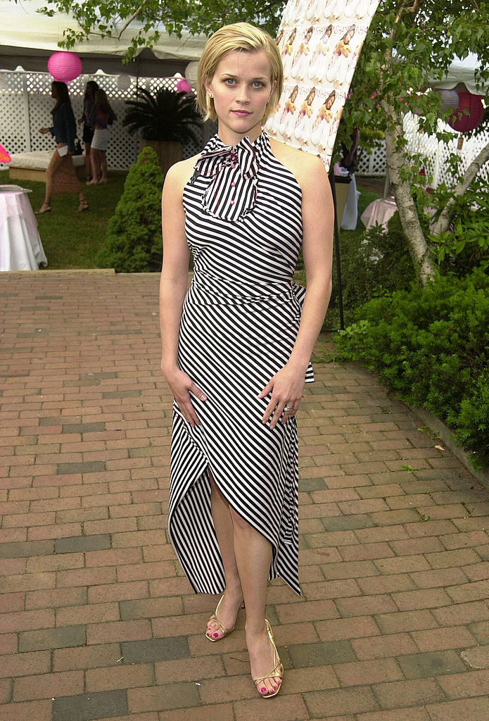 Reese Witherspoon in Striped Dress