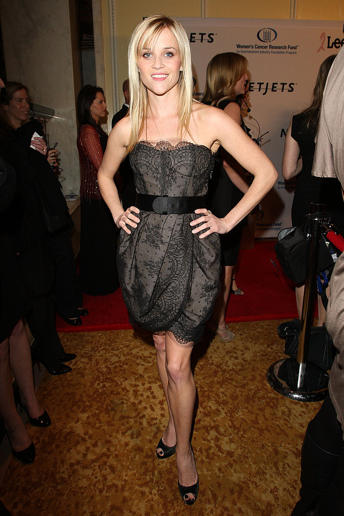 Reese Witherspoon in Jason Wu at 2010 Cancer Research Benefit