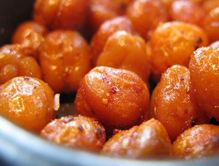Spicy Roasted Chickpeas | 15 Healthy Vegan Snacks to Eat Post-Workout ...