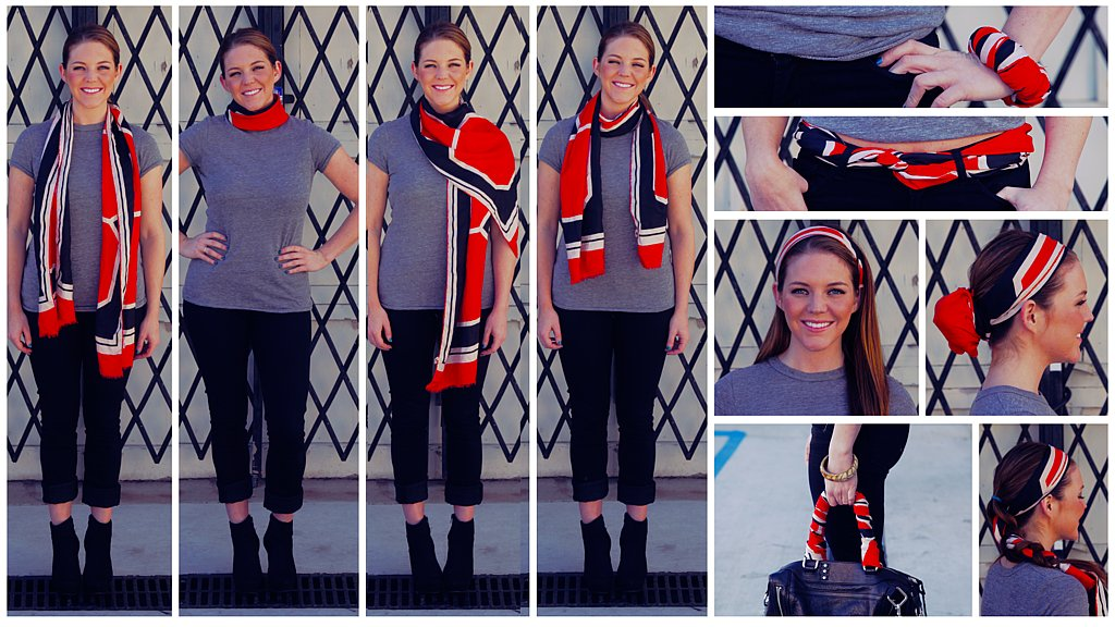 10 Easy Ways To Wear A Scarf: Watch Our So Simple How-To Video and Get Inspired!