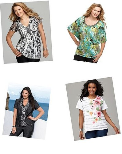 Plus Size Tops at Okay Prices