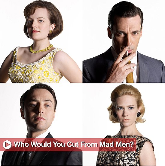 Sugar Shout Out: Which Mad Men Cast Member Would You Cut?