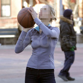 Guess Who Showed Off Her Basketball Skills?