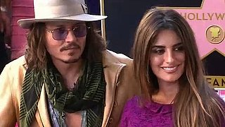 Video: Johnny Depp's Speech at Penelope Cruz's Hollywood Walk of Fame Ceremony